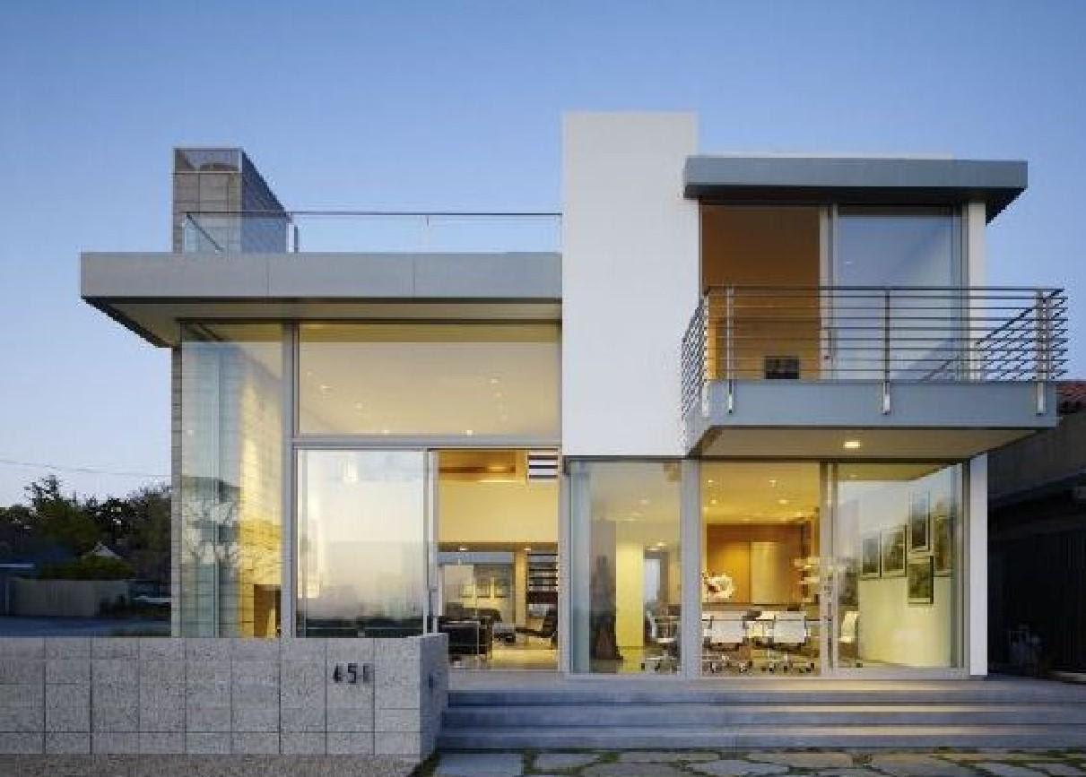 Desain Rumah Full Kaca