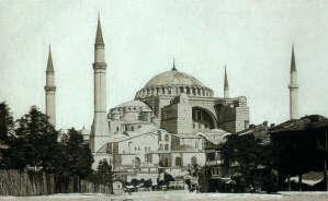 Ο Ναός της του θεού Σοφίας στην Κωνσταντινούπολη.