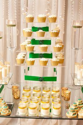 Gold and Emerald Green Dessert Table » mondeliceblog.com