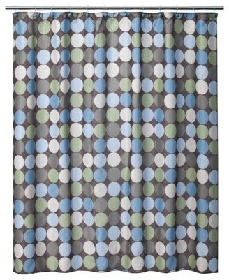 Multi Pinpoint Shower Curtain - contemporary - shower curtains ...
