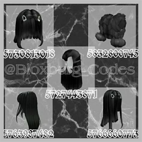 Black Hair Codes Roblox Roblox Hair Id Roblox Id cukupistirahat