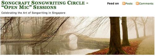 screenshot - Songcraft Blog banner