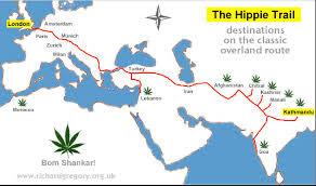 The Hippie route to Goa 1960-70