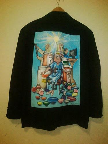 Ted Smith's jacket: Something Sacred