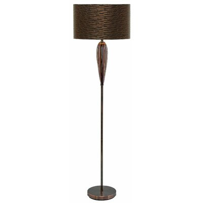 Drum Shade Glass Lamp | Wayfair
