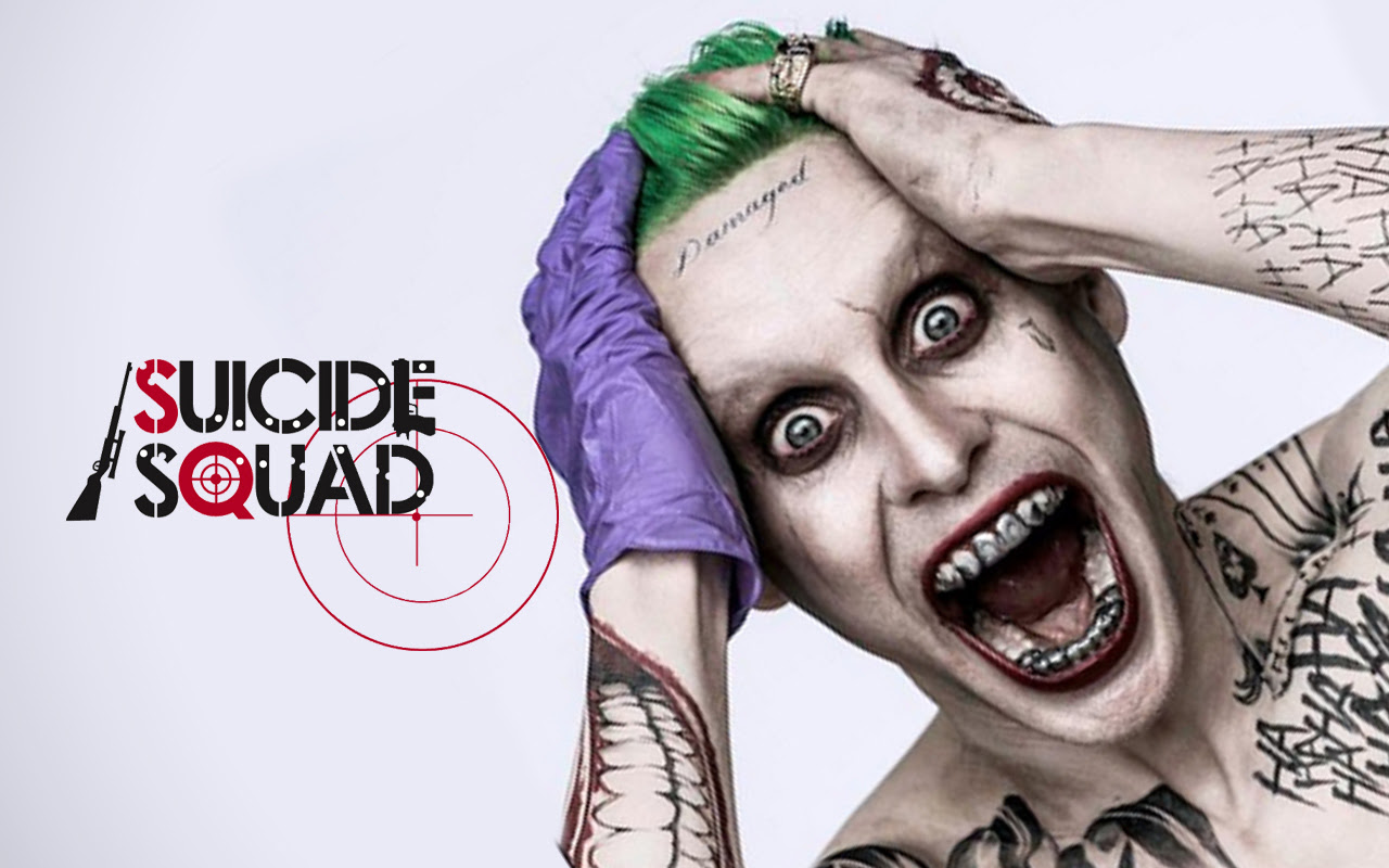 Jared Leto Joker Suicide Squad Movie Leaked Wallpaper Pulse