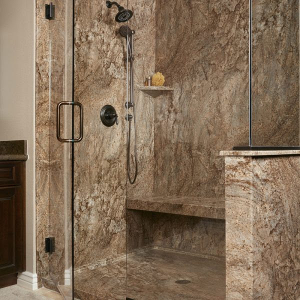 Tahoe Acrylic Granite Bathroom Wall Surround - Re-Bath ...