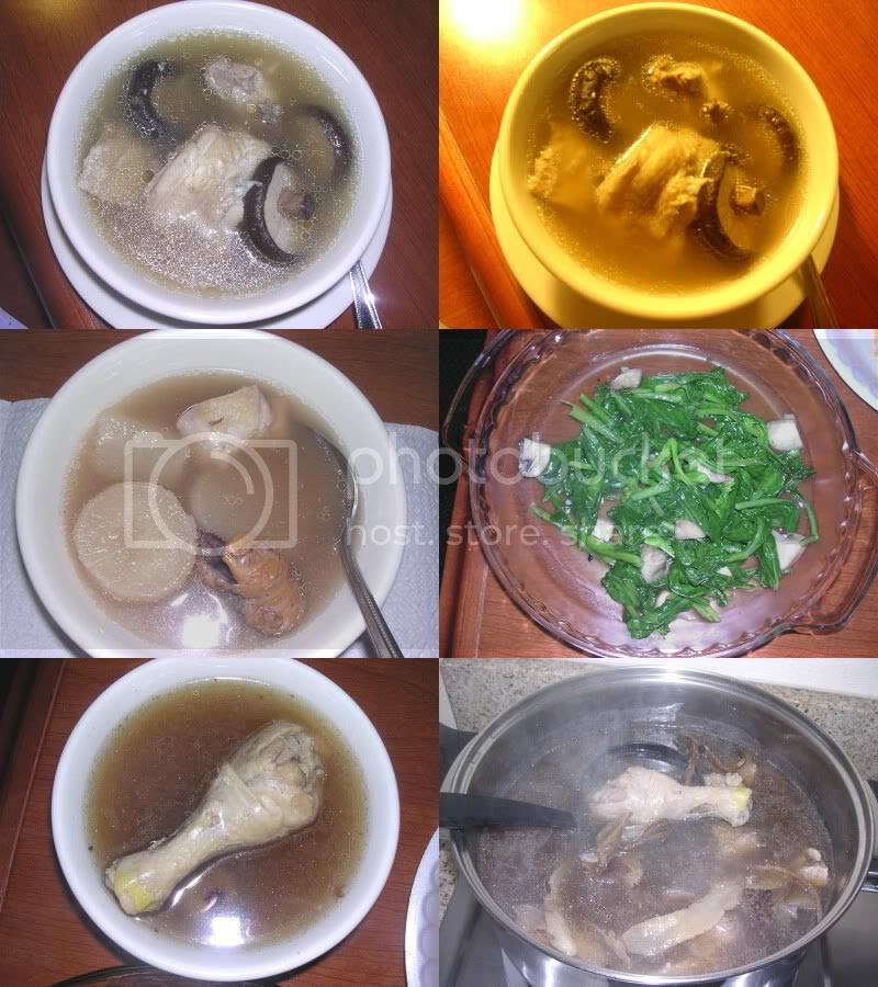 Self-cooked soup
