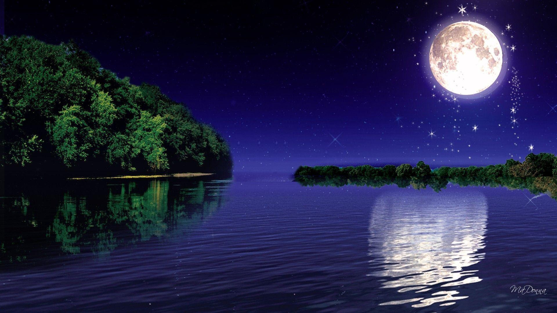 Wallpapers Moonlight  Wallpaper Cave