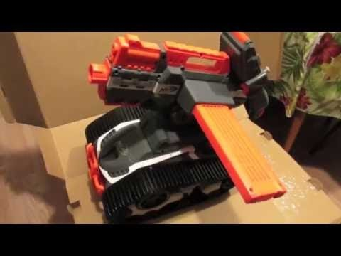 Unboxing The Nerf Terrascout N Strike Elite Rc Drone
