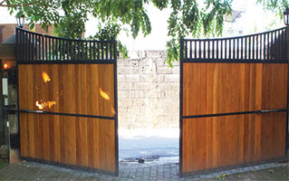 design of double door gate  | 800 x 600