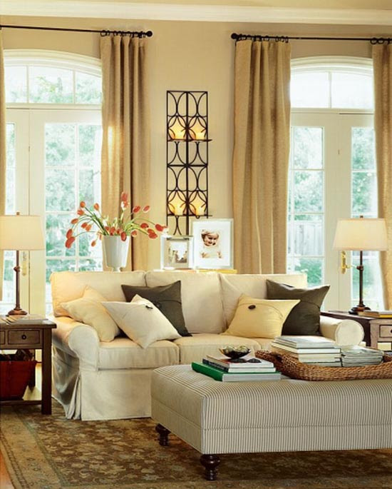 Living Room Decorating Ideas by Potterybarn | House Decorating Ideas