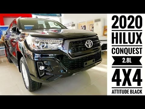 VIDEO: Toyota Hilux CONQUEST 2.8L 4x4 - Attitude Black   Walk Around & Review Video by Marvin Masongsong