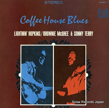 HOPKINS, LIGHTNIN', BROWNIE MCGHEE & SONNY TERRY coffe house blues