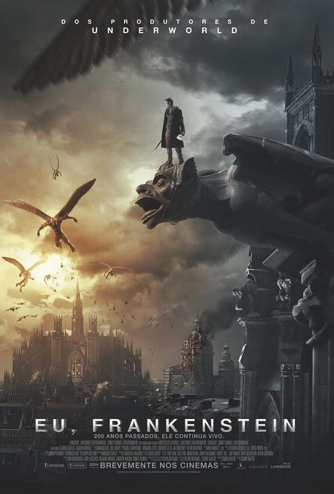 Poster do filme Eu, Frankenstein
