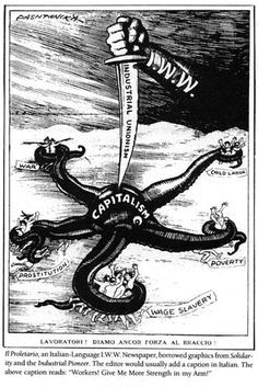 September 24, 1918:  The Canadian government outlaws the Industrial Workers of the World (IWW) and other organizations.  Penalty for membership was set at five years in prison.  The ban on the IWW was lifted after World War I ended.
