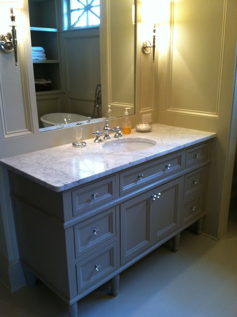 Unfinished Furniture Paint Ideas Bathroom Vanities and Sink ...