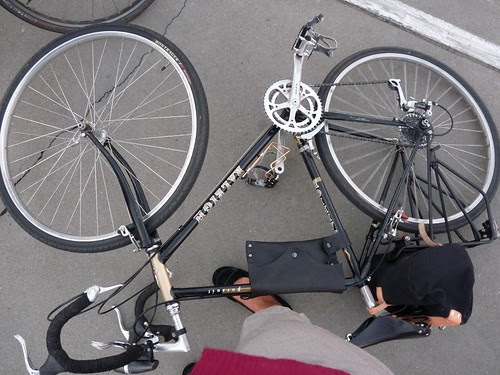 My Bicycle Takes A Nap