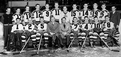 1938-39 Boston Bruins team, 1938-39 Boston Bruins team