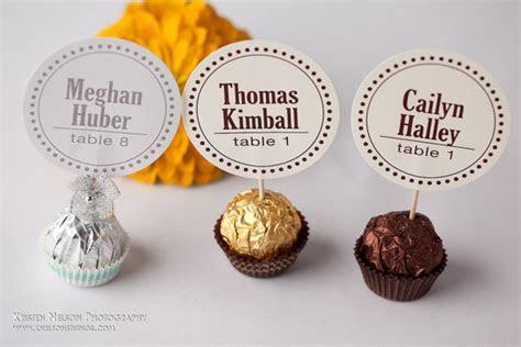 Unique Wedding Reception Ferrero Rocher Chocolate Candy