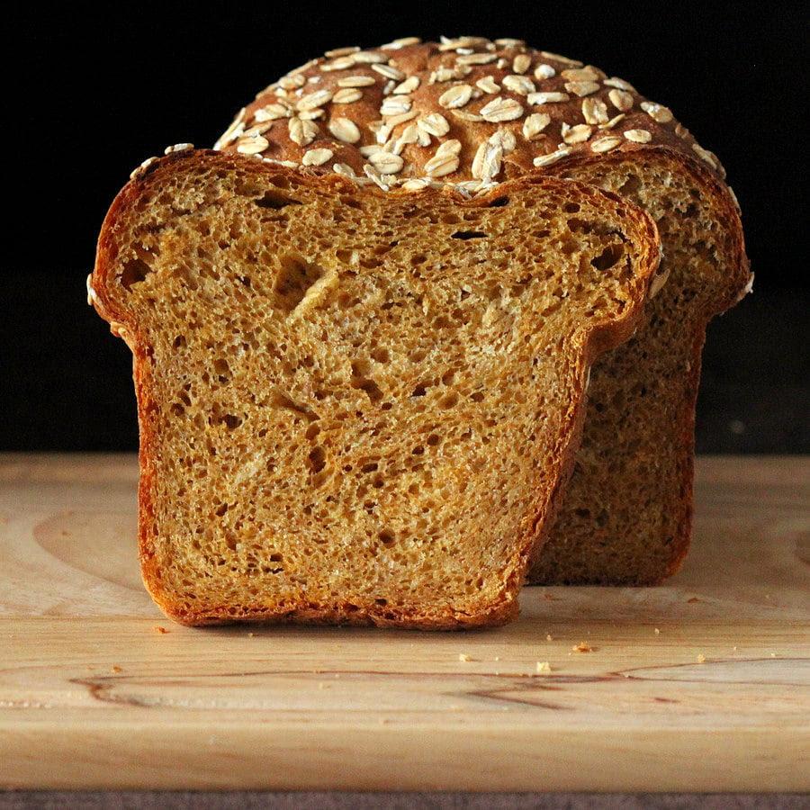 Pumpkin Wheat Bread Loaf. Vegan Recipe - Vegan Richa