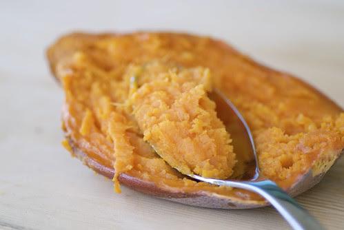 roasted sweet potato DSC_0193