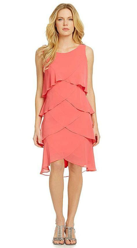 The perfect coral dress for amother of the bride dress for