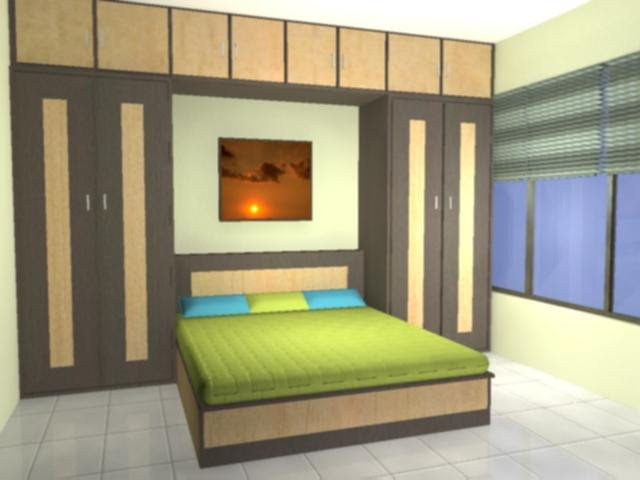 Wardrobe in small Bedroom - GharExpert