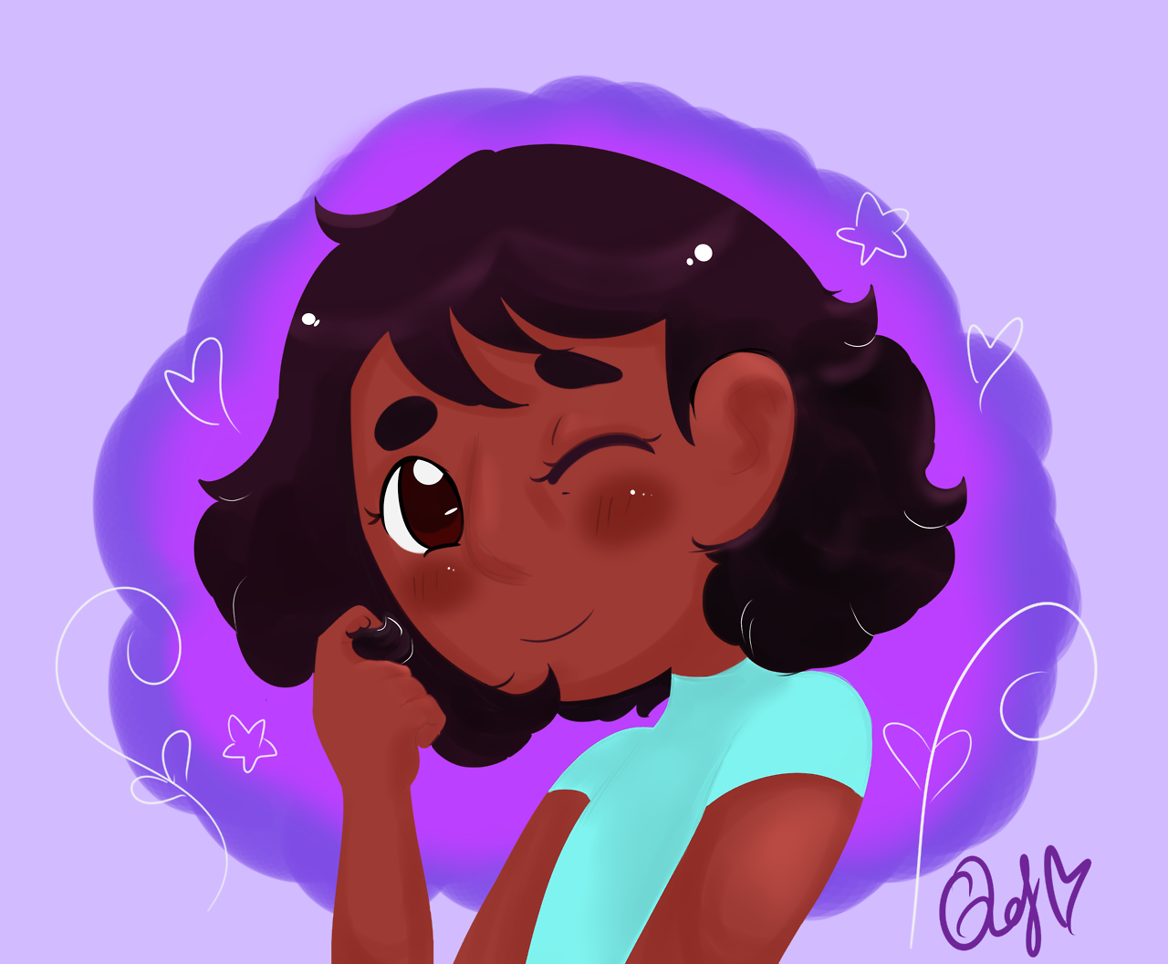 So… Connie looks really cute with short hair, just sayin'.