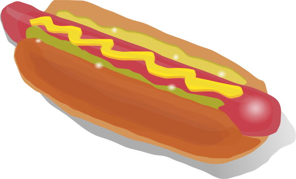 Hot Dog Sandwich Clip Art At Clkercom Vector Clip Art Online