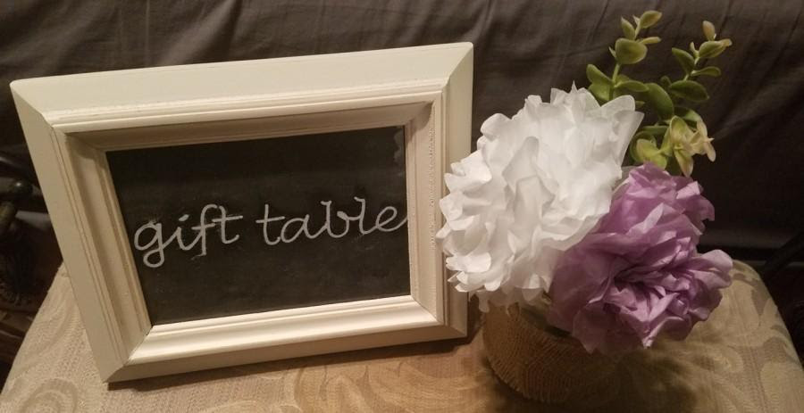 Customized Wedding Sign Gift Table Sign Guest Book Sign