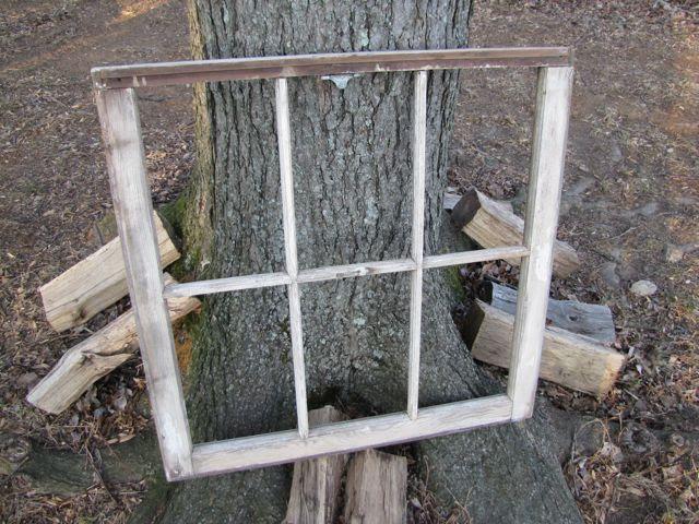 Window Frame Jewelry Display The Borrowed Abodethe
