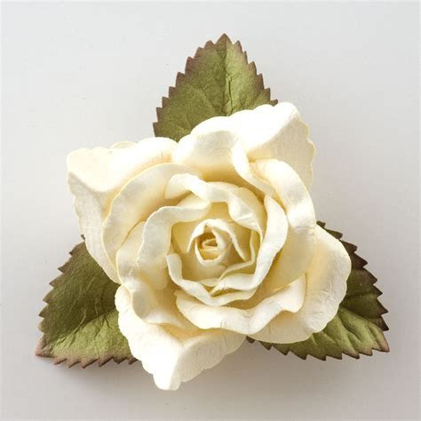 Large Cream Rose Decoration at Favour this