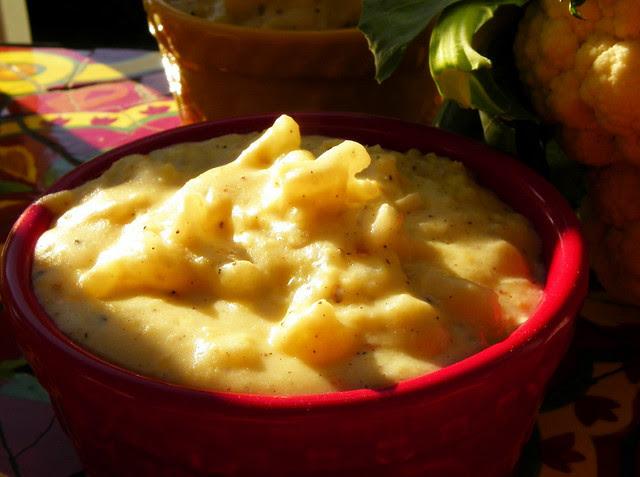 Creamed Cauliflower With A Hint Of Nutmeg