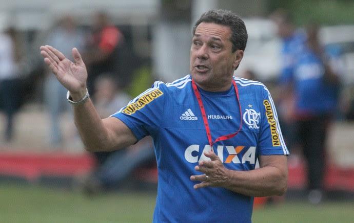 Treino Flamengo - Luxemburgo  (Foto: Gilvan de Souza/Flamengo)