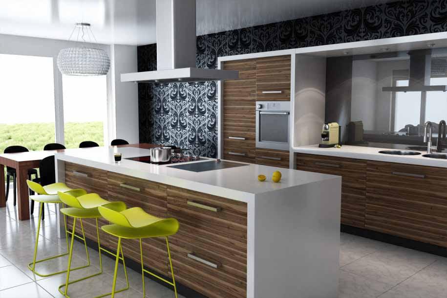 Desain Dapur Dan Ruang Tamu Terbaru Desain Rumah Minimalis