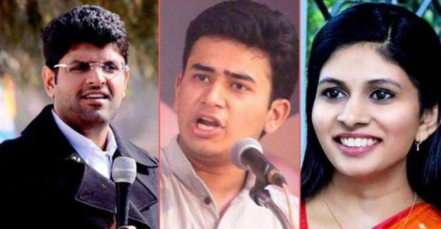 Tejasvi Surya is not the only young leader to contest in Elections, But These young leaders can also be seen