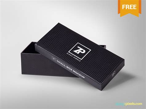 Download Little Box Mockup - Free Download Mockup