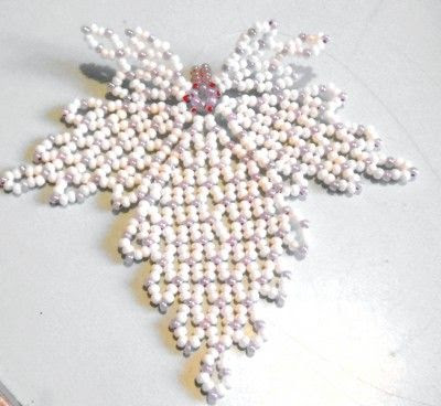 openwork beaded leaf (Russian) by Lyudmila Kazarinova. (Translate).  Also shows some uses of finished leaves.  #Seed #Bead #Tutorials