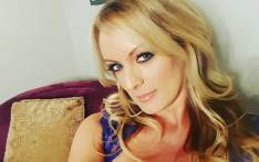 FILE: Adult film actress Stephanie Clifford, who uses Stormy Daniels as her professional name. Picture: @thestormydaniels/Instagram.