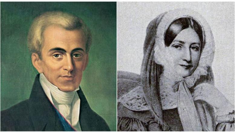 Καποδίστριας-Στούρτζα: Ο μεγάλος ανεκπλήρωτος έρωτας της ιστορίας
