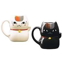 夏目友人帳 ニャンコ先生招き猫型マグカップ