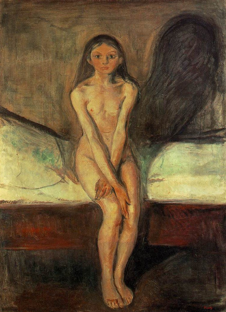 Edvard Munch - Puberty 1894-95