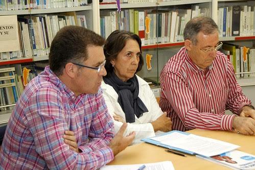 Alcaldables de Getxo con GetxoBlog: Imanol Landa, Marisa Arrue y Luis Almansa
