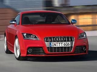 Audi TT-S frontal