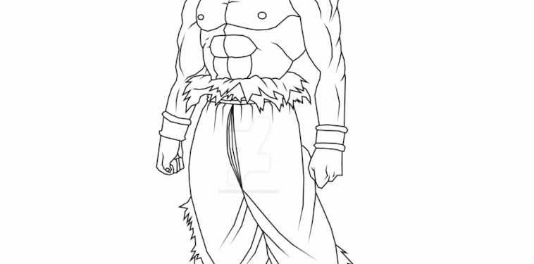 Ultra Instinct Dragon Ball Super Goku Coloring Pages