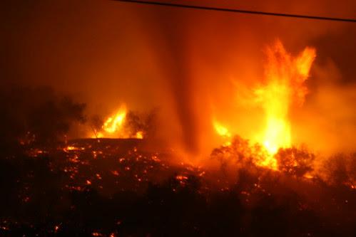 "Big ""Fire Tornado"""