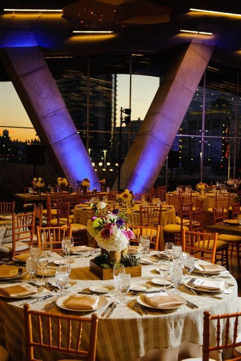 Perot Museum of Nature and Science Weddings