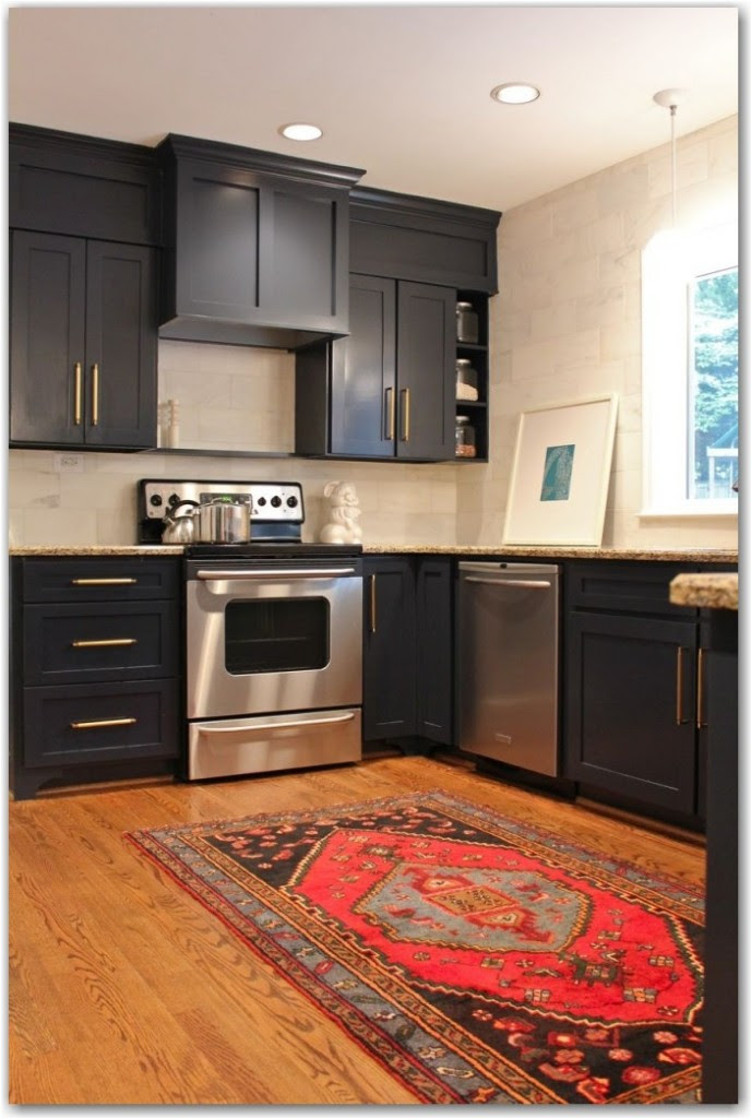 project library :: dark cabinets? - Fieldstone Hill Design