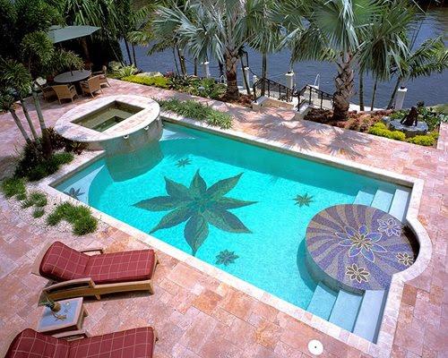swimming pool mosaic botanical visions_1720